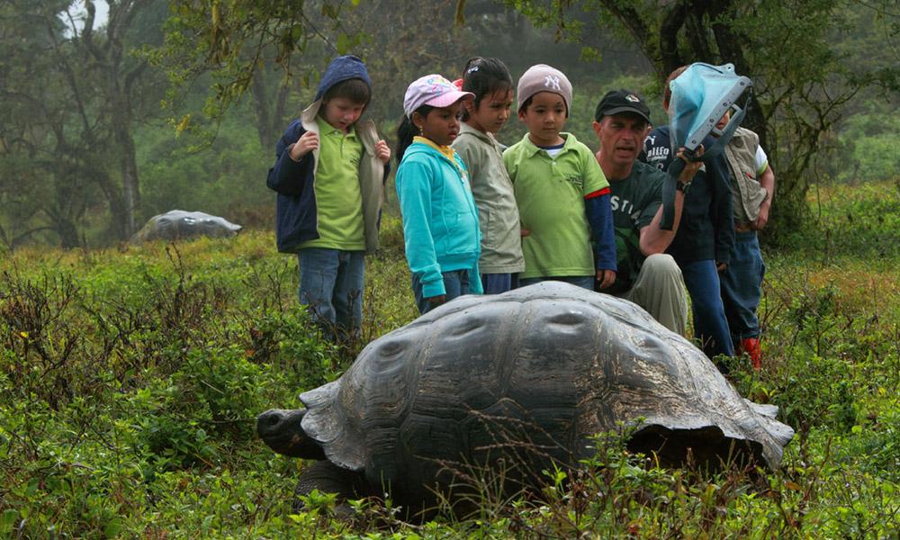 Gente de Galápagos: Dr. Steve Blake © Christian Ziegler