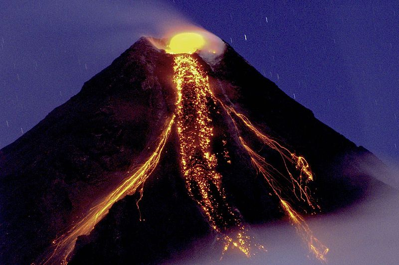 Lugares de Galápagos: Volcán de Cono Compuesto (©Tryfon Topalidis)